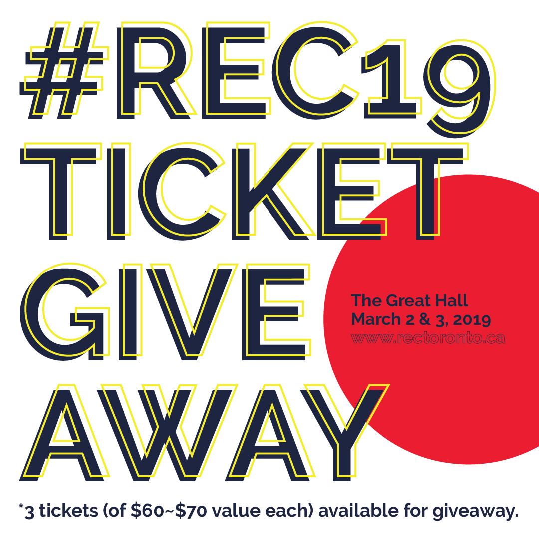 https://www.rectoronto.ca/wp-content/uploads/2019/01/REC19-Ticket-Giveaway-Square.jpg